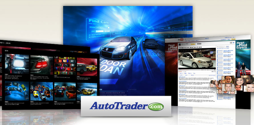 AutoTrader.com - artwork by Sean Frangella