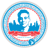 Viytale stickers - past sticker, Mayor Rahm Emanuel