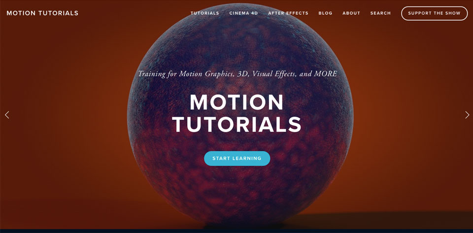 Check out my other website MotionTutorials.net
